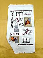 Кухонні рушники велюр/махра 40х60 (12шт) 380м/2 Туреччина
