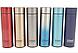 Термос с индикацией температуры CUP Smart Бутылка для воды напитков стальная 500 мл Красный, фото 4