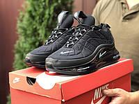 Nike Air Max 720 черные термо кросовки - Найк Найк Аир Макс 720-818 мужские на термопрокладке, фото 1