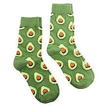 Шкарпетки з авокадо зелені, модні високі шкарпетки подрастковые Avocado р. 36-40 високі шкарпетки
