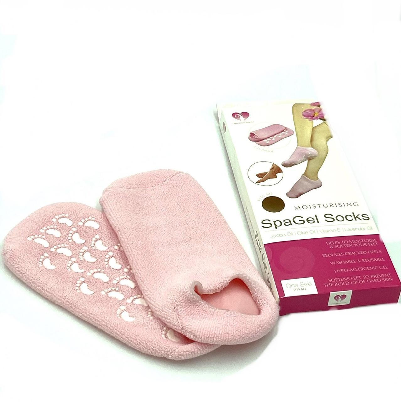 Косметические носки Spa Gel Socks для холодной парафинотерапии, 1 пара