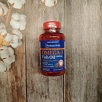 Puritan's pride Omega-3 Fish Oil 1360 mg Triple Strength 60 softgels омега 3 , 950 мг омеги