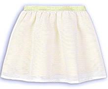 Нарядная юбка для девочки золотистая