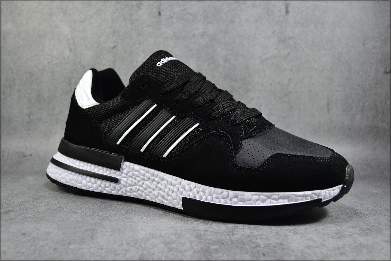 Мужские кроссовки Adidas ZX Black