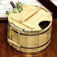 Запарник для віників дубовий 30л Fassbinder™ die authentische Gestaltung запарники для лазні та сауни