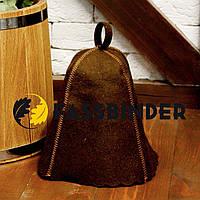 Шапка для лазні та сауни Fassbinder™ кольоровий повсть (коричневий)