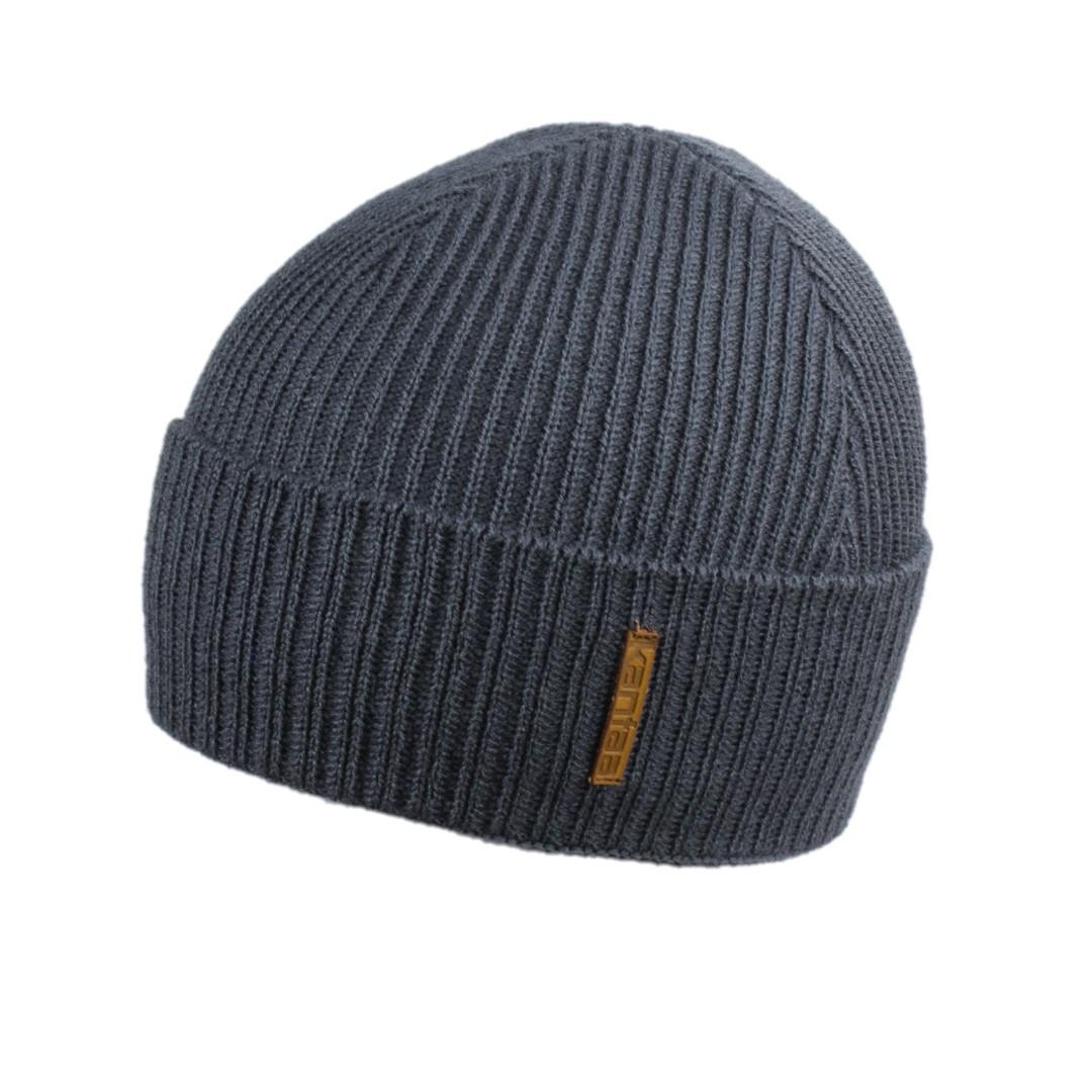 Мужская зимняя шапка КАНТА размер 56-58, серый (OC-476)