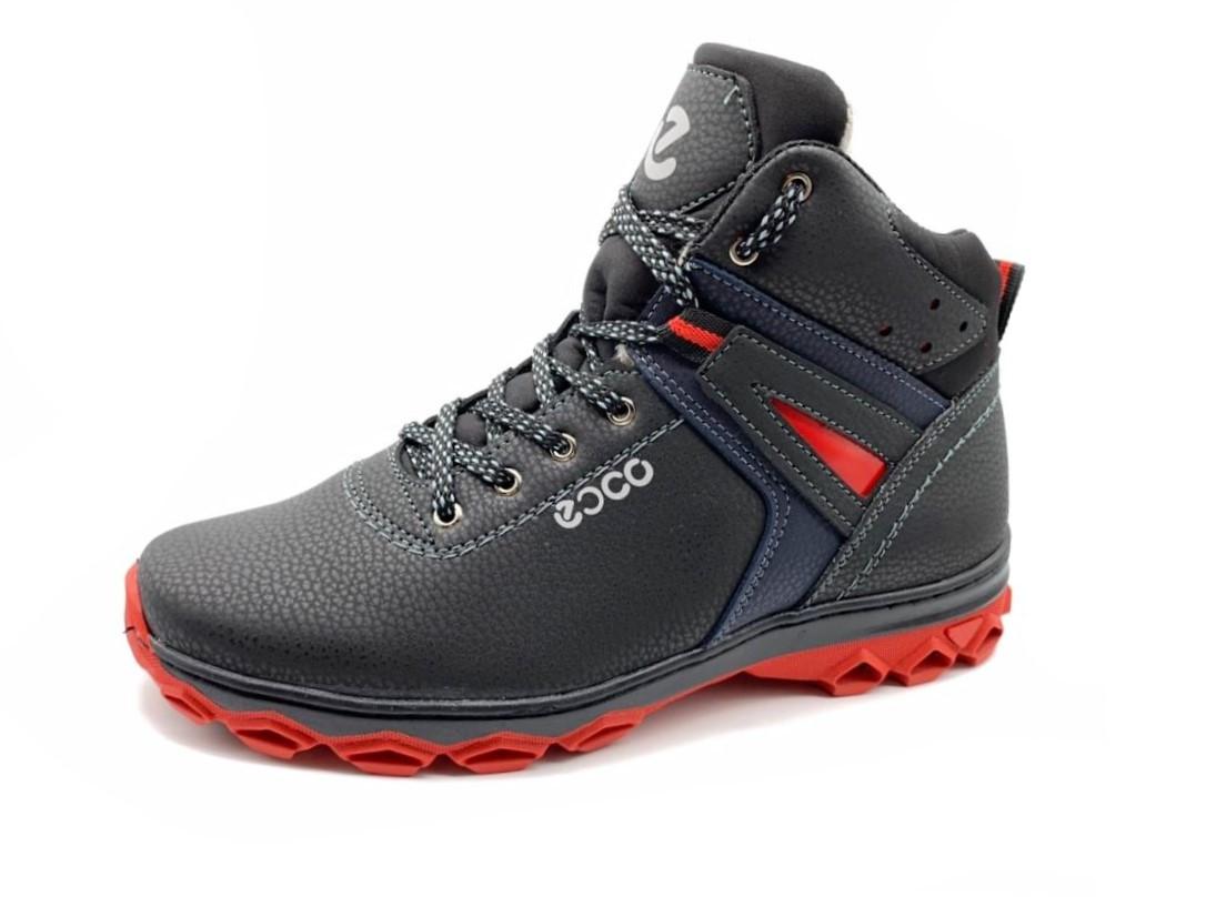 Ботинки мужские зимние на красной подошве 42 размер