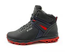 Ботинки мужские зимние на красной подошве 42 размер, фото 2