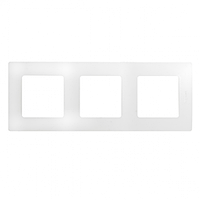 Рамка 3-постовая «Этика» – «Легранд», цвет «белый»