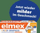 Elmex Zahnpasta Kinder, 2 bis 6 Jahre деткая зубная паста от 2-х до 6-и лет 50 ml