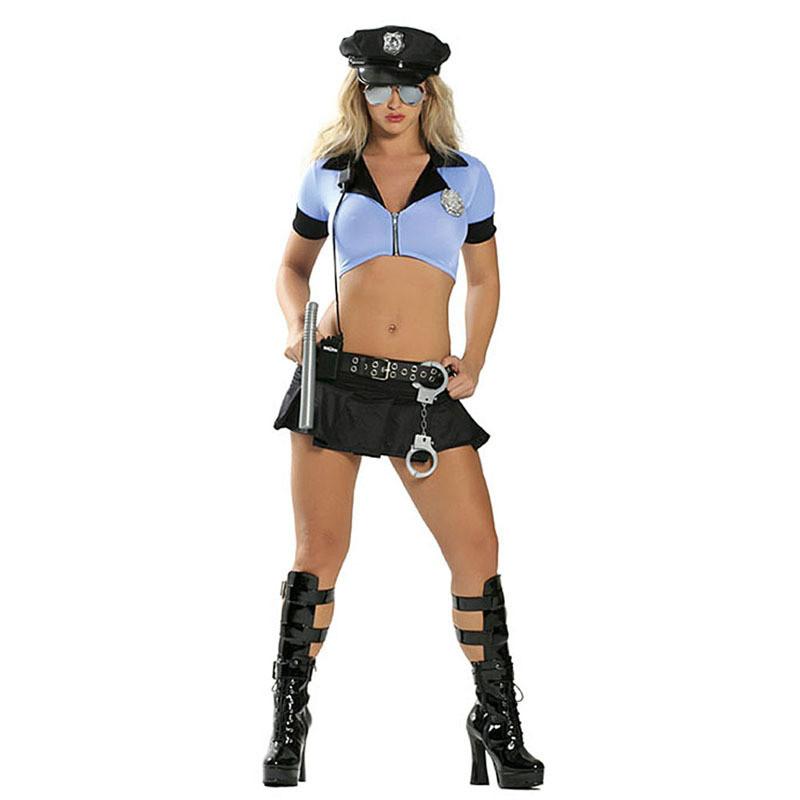 Ролевой костюм полицейской, секси наряд. эротическое платье, 115