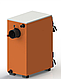 Твердотопливный котел с наклонной загрузкой Kotlant КН-24 кВт с механическим регулятором тяги, фото 3