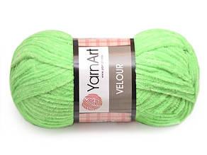 YarnArt Velour, Зеленый №861