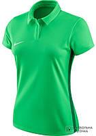 Поло женское Nike Womens Dry Academy 18 Polo 899986-361 (899986-361). Женские спортивные футболки-поло.