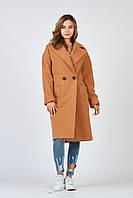Пальто базовое цвета кемэл