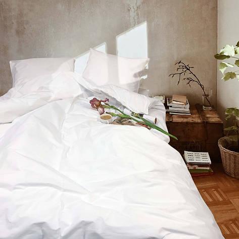 Комплект постельного белья Viluta Ранфорс Белый, фото 2