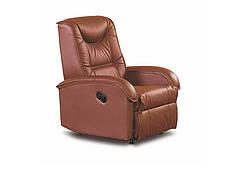 Кресло для отдыха Jeff коричневое (Halmar)