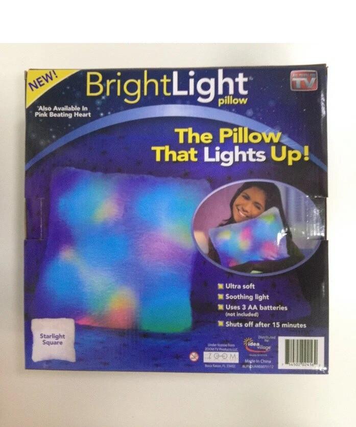 Подушка-ночник светящаяся Bright light pillow - лучший подарок для ребенка