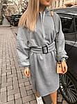 Тепле плаття з капюшоном від СтильноМодно, фото 2