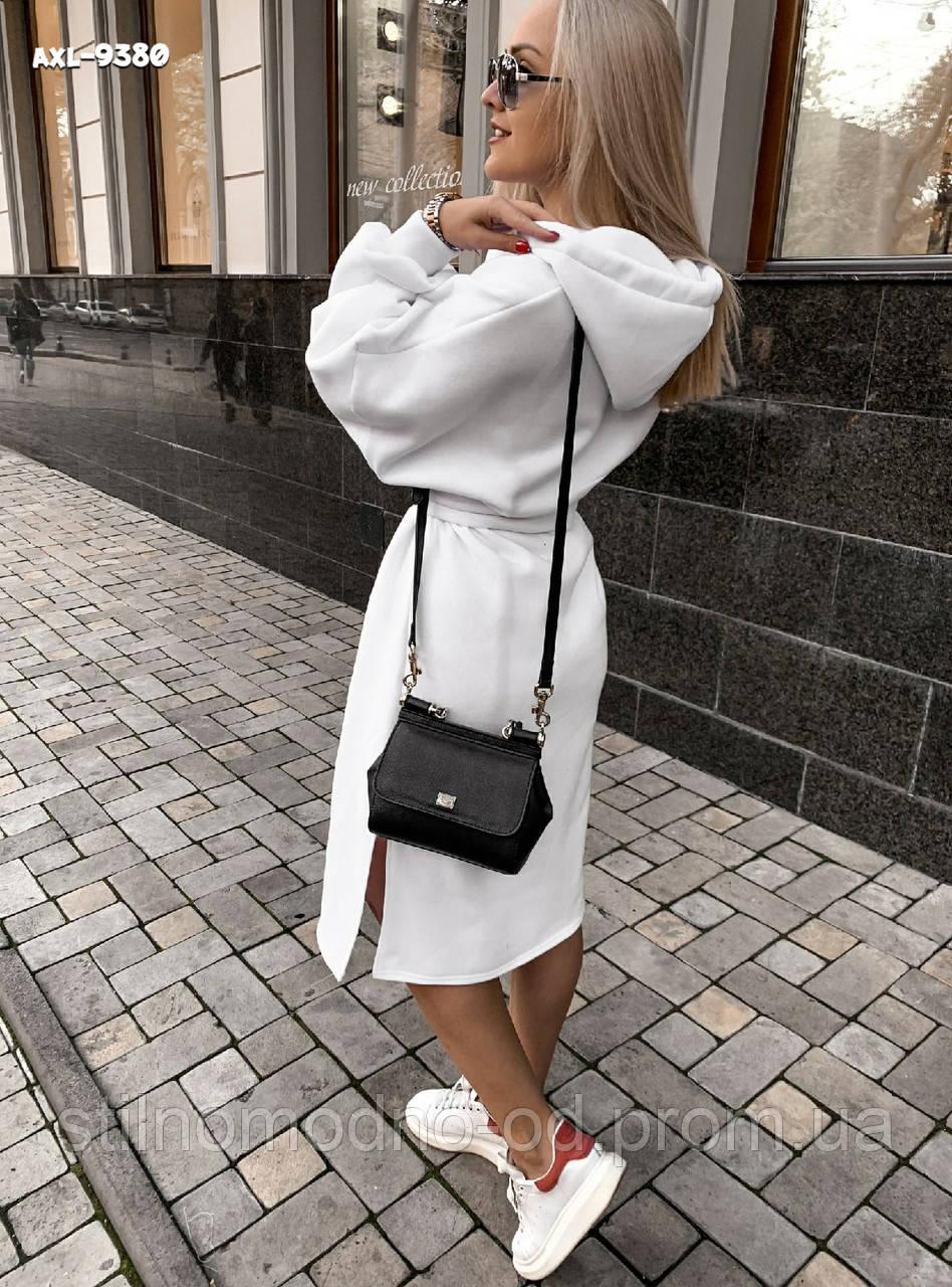 Тепле плаття з капюшоном від СтильноМодно