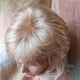 Парик каскад удлиненный жемчужный блонд Е-3460 -L24/613, фото 6