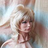 Парик каскад удлиненный жемчужный блонд Е-3460 -L24/613, фото 8
