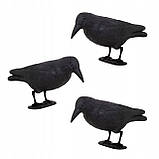 Ворон для отпугивания птиц Springos GA0129, фото 4