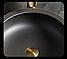Керамическая накладная раковина. Модель RD-0481, фото 10