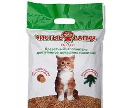 Чисті лапки' стандарт-лаванда 3 кг (12 л) - Наповнювач для котячого туалету