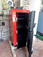 Лучший котел длительного горения Kraft серия L 15 кВт сталь 6 мм!! / Крафт L