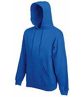 Худи Fruit of the Loom Classic hooded sweat M Ярко-синий 062208051M, КОД: 1554530