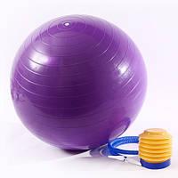 Мяч для фитнеса Фитбол 65см ProfiBall с ножным насосом