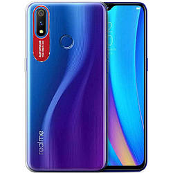 Чехол Realme 3, TPU, Epic, clear flash
