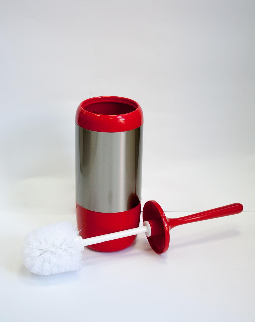 Щетка туалетная серия Лима (цвет красный)