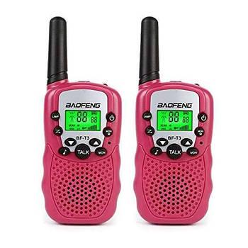 Рація, Baofeng BF-T3 UHF Pink (комплект x2)