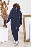 Стильный и тёплый спортивный костюм из трикотажа трёхнитки!, фото 4
