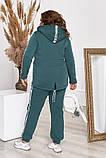 Стильный и тёплый спортивный костюм из трикотажа трёхнитки!, фото 8