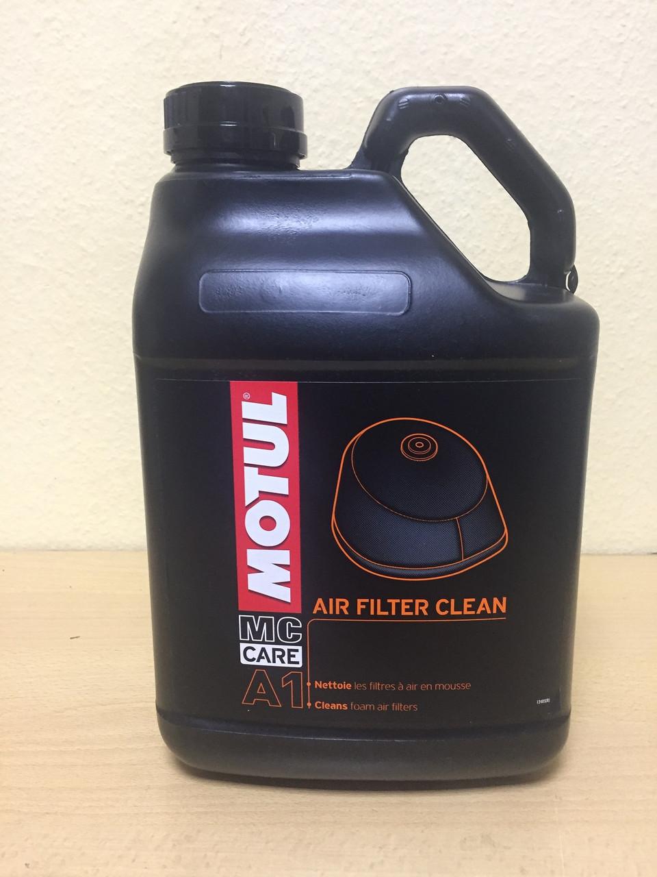 Очиститель MOTUL A1 AIR FILTER CLEAN 5л (102985)