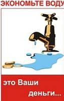 Счетчики воды как вариант экономии на оплате жилищно-коммунальных услуг.