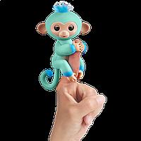 Fingerlings Інтерактивна мавпочка двоколірна Eddie оригінал Wow Wee (Уцінка)