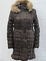 Удлиненные молодежнные зимние куртки девочка