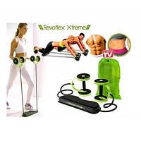 Роликовый тренажер Revoflex Xtreme с комплексом из 40 упражнений для всего тела и 6-ю уровнями тренировки