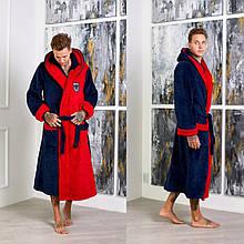 Чоловічий халат теплий