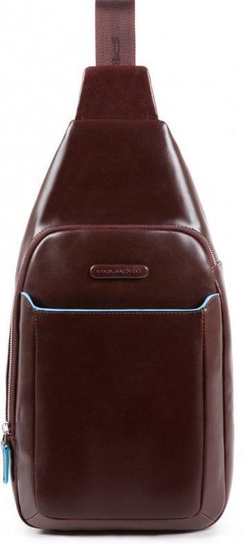 Рюкзак кожаный Piquadro Bl Square7л коричневый