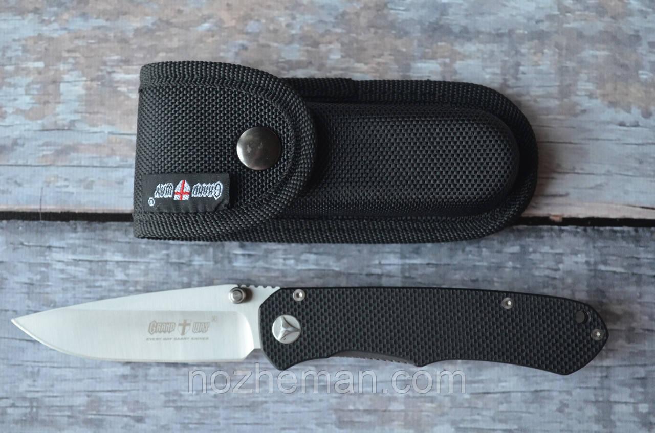 Складной нож, для туризма и повседневного ношения, EDC-18 комплектуется чехлом из кордуры