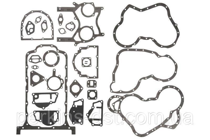 Нижній набір прокладок для двигуна Perkins 4.236, 4.248