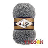 Alize Angora Real 40 №182 темно-серый, фото 1