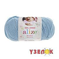 Alize Baby Wool №128 бирюзовый