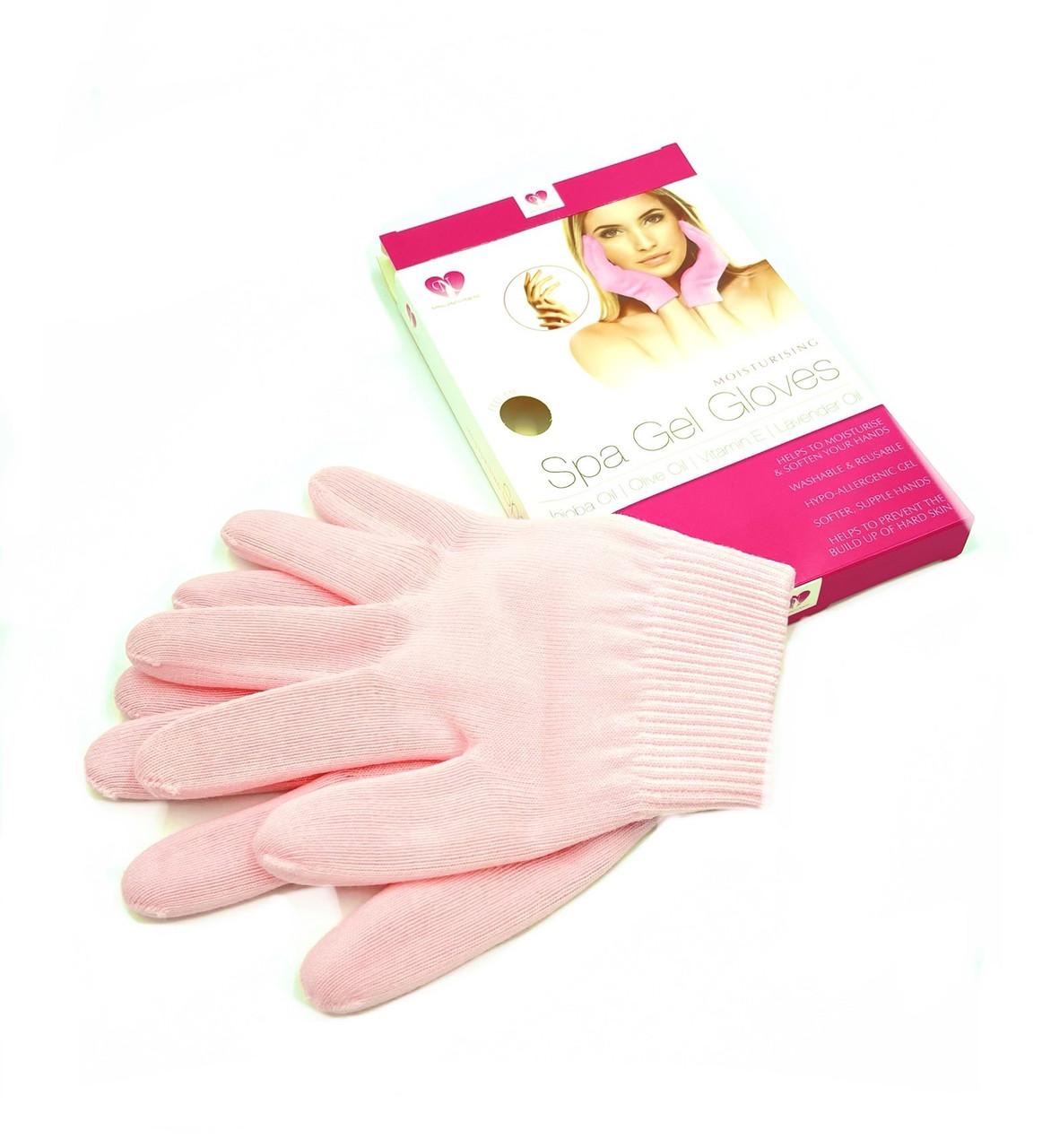 Косметические перчатки Spa Gel Gloves для холодной парафинотерапии, 1 пара